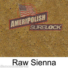 1 GL. Raw Sienna CONCRETE COLOR DYE FOR CEMENT, STAIN AMERIPOLISH Surelock color