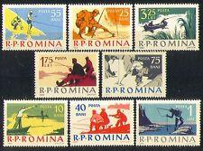 Romania 1962 Fishing/Sports/Fish/Angling 8v set (n32606)