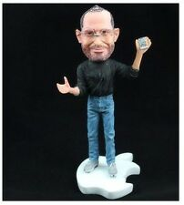 Great man Steve Jobs For Apple Founder Statue Figure (For iphone In hand)