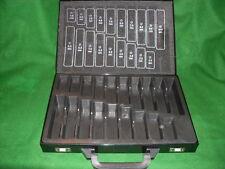 Spiralbohrer Lager/Montage-Koffer, leer, 19 Fächer    1,0 - 10,0 mm x 0,5 mm
