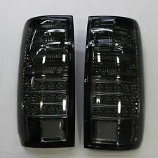 For 1991-1997 TOYOTA LAND CRUISER FJ82 LC80 Black LED TailLights j Lamps 1Set