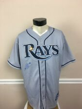 Tampa Bay Rays Jersey NWT. Large L Signed Jeremy Hellickson # 58 Short Sleeves