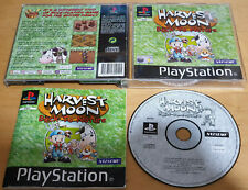 HARVEST MOON BACK TO NATURE for SONY PS1 PLAYSTATION 1 COMPLETE Natsume