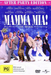 MAMMA MIA The Movie - After Party Edition - DVD - Brand New & Sealed