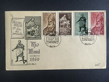 1960 Spain Rio Muni First Day Cover Colonial Stamp Day