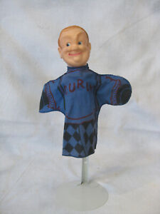 Vintage 1959 The Three Stooges Hand Puppets  Curly NM vinyl head HTF