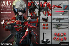 Hot Toys VGM19 Metal Gear Solid Rising Revengence Raiden Inferno Armor Version