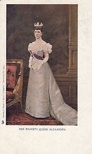 "Raphael Tuck - Her Majesty Queen Alexandra - ""Empire"" Postcard No. 1452 c1902"