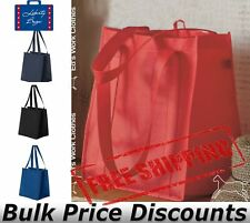 """Liberty Bags Non-Woven Classic Reusable Shopping Bag 3000  12.5"""" x 13.5"""" x 8.5"""""""