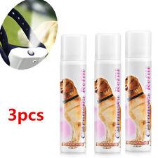 3 Pcs Anti Bark Citronella Spray Refill No Barking Training For Dog Collar