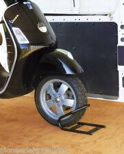 FIAMMA MOTO WHEEL CHOCK FRONT FOR MOTORCYCLES/SCOOTERS IN MOTORHOME GARAGE