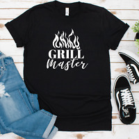 Grill Master T-Shirt, Men's Shirt, Men's Graphic Tee, Father's Day Gift, Gifts f