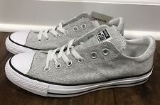 Women's Converse Gray Textured Print Sneakers Size 9 NWT!