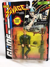 MOC Hasbro Toy GI JOE Action Figure SGT Savage RARE D-DAY with Cannon 81033