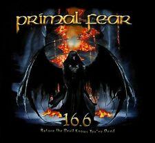 PRIMAL FEAR cd cvr 16.6 DEVIL KNOWS Official SHIRT MED New OOP