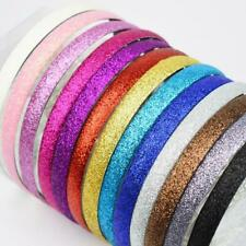 Fashion Girls Women Glitter Headbands Sparkle Hoop Hair Plastic Hair Accessories