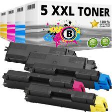 5x XL TONER PATRONE für Kyocera Mita FS-C5150DN Toner-patrone-kassette TK-580