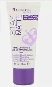 🌷🌷🌷Rimmel London Stay Matte Makeup Primer 30mL🌷🌷🌷