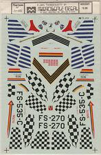 1/72 MicroScale Decals F-84G Thunderjet 36th FBW 49th FBG 86th FBG 72-202