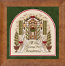 GLENDON PLACE Cross Stitch Pattern Chart I'LL BE HOME FOR CHRISTMAS