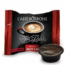 Caffè Borbone - Don Carlo Miscela Rossa -50 Pezzi Compatibili Lavazza A Modo Mio