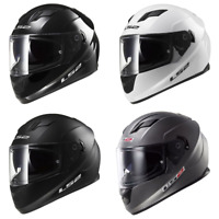 2021 LS2 Stream Solid Full Face Street Motorcycle Helmet - Pick Size & Color