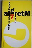 Maigret E Solo.,Simenon Georges  ,Trento, L'Unità, 1993 ,1993