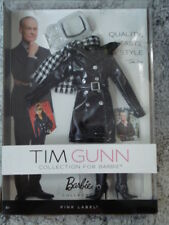 NRFB Tim Gunn Barbie Fasion   Black Coat