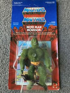Vintage MOTU Moss Man Moussor Euro French Sealed He Man Masters of the Universe