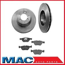 04-07 BMW 525i With M/T (2) Front Brake Rotors & Pads