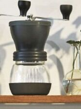 Hario Medium Glass Hand Coffee Grinder with Ceramic Burrs Clear
