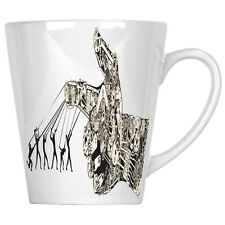 Abstract Design Robotic Arm Manipulated by Humans 12oz Latte Mug y222L