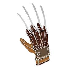 Freddy Krueger Enamel Pin A Nightmare on Elm Street Halloween Horror Movie Lapel