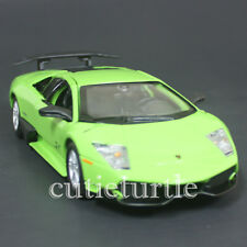 Bburago 24050 Lamborghini Murcielago LP 670-4 SV 1:24 Diecast Model Car Green