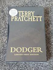 Dodger Terry Pratchett Stamped Numbered Limited First Edition Slipcased Hardback