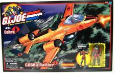 GI Joe Cobra Rattler Action Figure Vehicle Complete WILD WEASEL 2002 MISB