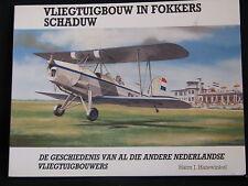 Rebo Book Vliegtuigbouw in Fokkers Schaduw Harm J. Hazewinkel (Nederlands)