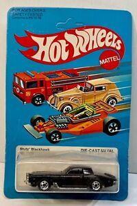 1979 HOT WHEELS #1126 STUTZ BLACKHAWK DIE-CAST IN SEALED PACKAGE 1982 BLACK