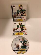 Play Station 3 Madden NFL 09 (Sony PlayStation 3, 2008) Video Game