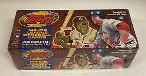 2000 Topps Baseball Series 1 & 2 Complete Factory Sealed Set