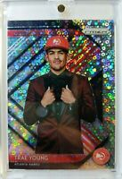 2018-19 Prizm Silver Fast Break Luck of the Lottery Trae Young Rookie RC #5