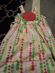 Bonnie Jean Girls White Dress Size 6x