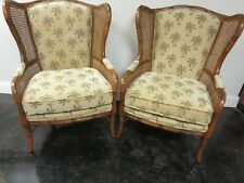 A One of Kind Pair of Craftmaster(USA) Solid Wood, Finger Jointed West Indies St