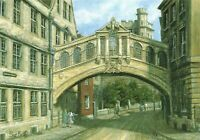 NEW Art Postcard, The Bridge of Sighs, Hertford College Oxford by Sue Firth OX8