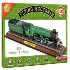 Flying Scotsman Train 3D Puzzle Jigsaw Model Locomotive  165 pieces 8 yrs+