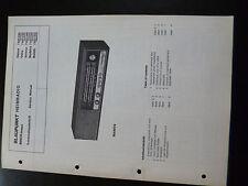 Original Service Manual Blaupunkt Heimradio  Genua Ostia Madeira Ballett