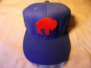 Reebok Throwback logo BUFFALO BILLS One Size Hat Cap NEW W/O TAGS