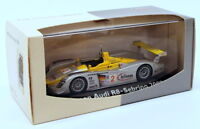 Minichamps 1/43 Scale Model Car JK20118F - Infineon Audi R8 #2 Sebring 2002