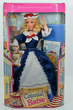 NIB-1994 BARBIE DOLL-I CAN BE..COLONIAL-CROSS STITCH-AMERICAN STORIES-VINTAGE