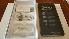 NEW Samsung Galaxy NOTE 5 SMN920A 64GB Black AT&T H20 UNLOCKED T-MOBILE